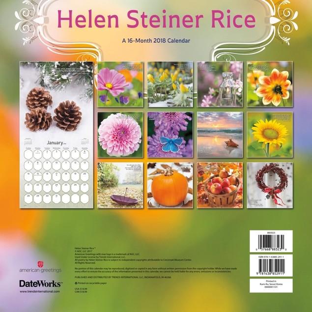 Helen Steiner Rice Wall Calendar, Christian by Calendars