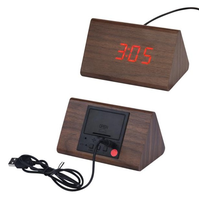 Fashion Creative Smart Clock LED Snooze Alarm Calendar Temperature
