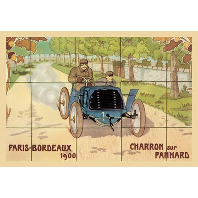 The 1900 Paris to Bordeaux car race was won by Charron in his Panhard autom