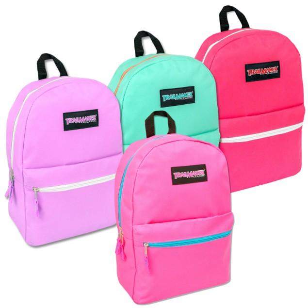 Trailmaker Classic Girls 2 Pocket Backpack