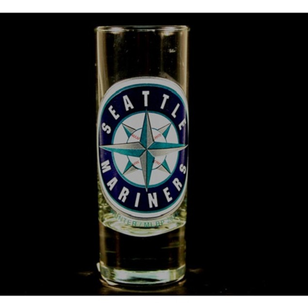"Seattle Mariners MLB ""Hype"" Tall Shot Glass"