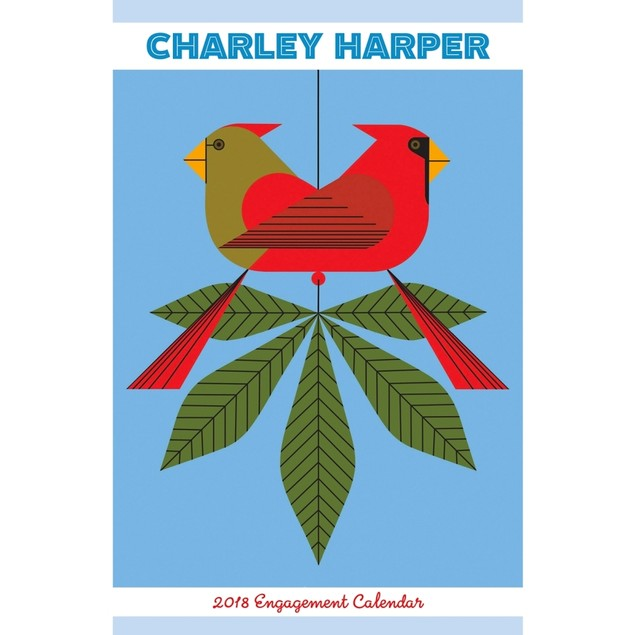 Charley Harper Softcover Weekly Planner, Fine Art by Pomegranate