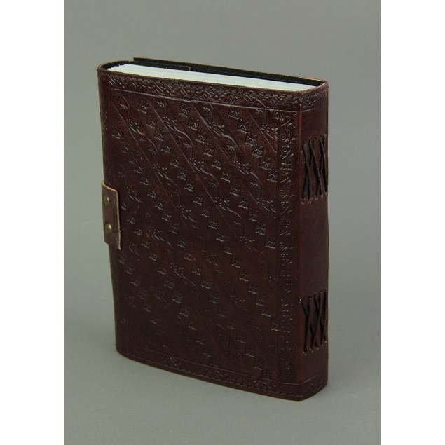 Embossed Leather Crescent Moon Fairy 120 Leaf Art Sketchbooks And Notebooks