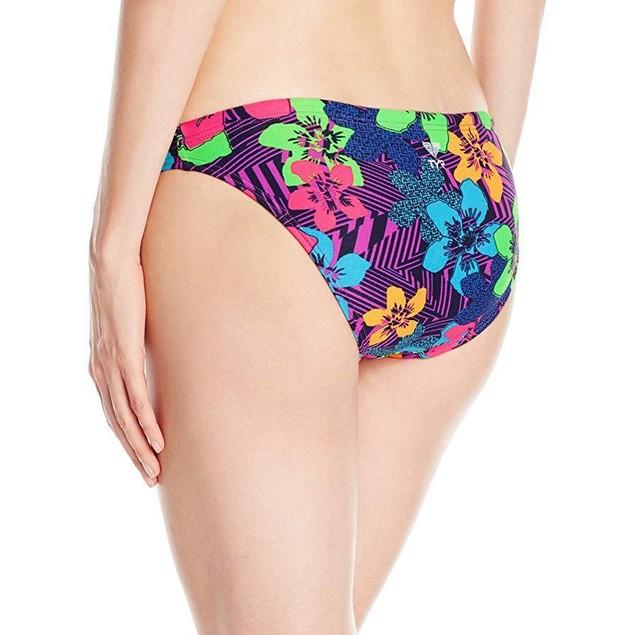 TYR Women's Ohana Bikini, Purple,  Sz X-Small