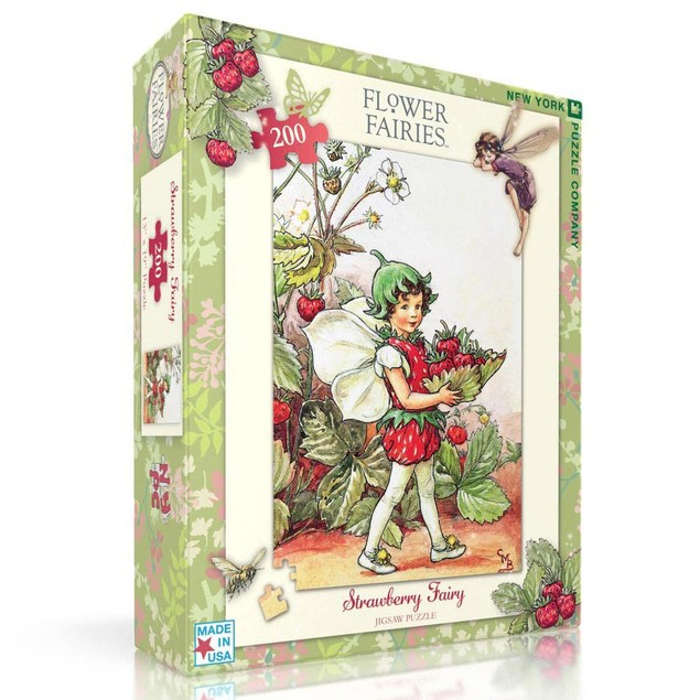 Strawberry Fairy 200 Piece Puzzle, More Puzzles by New York Puzzle Company
