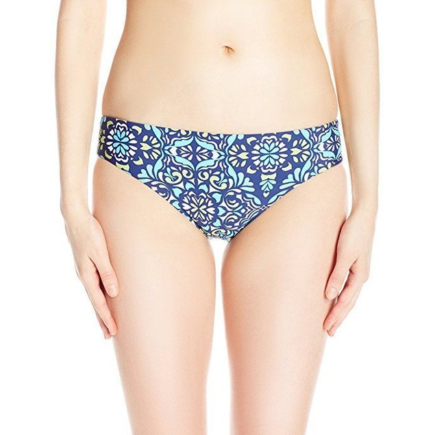 ATHENA Women's Mosaic Tile Reversible Retro Bikini Bottom SZ: 4