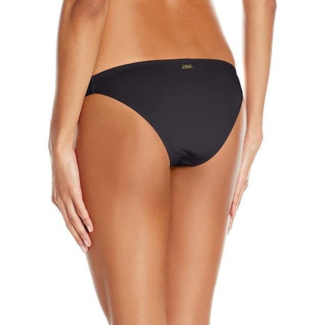 Eidon Women's Flavors Mila Bikini Bottom, Black, X-Large
