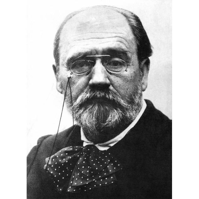 Emile Zola (1840-1902). /Nfrench Novelist. Poster