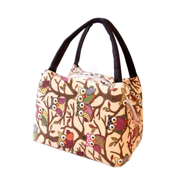 Tote Picnic Lunch Cool Bag Cooler Box Handbag Pouch