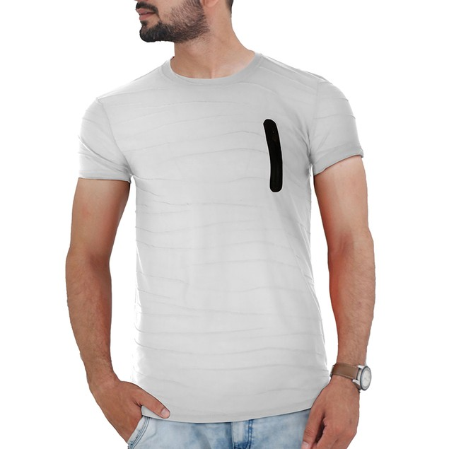 Men's Hipster Lightweight Striped T-Shirt (S-2X)