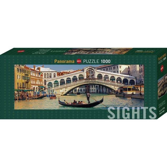 Sights Rialto Bridge 1000 Piece Puzzle, 1,000 Piece Puzzles by Autruche