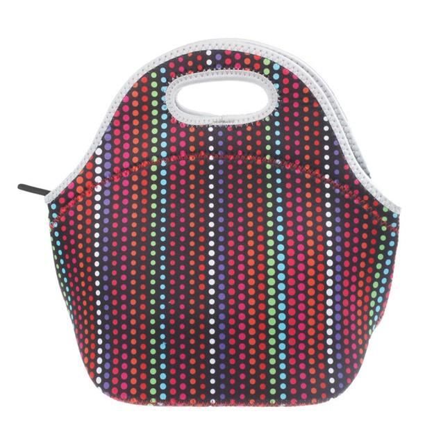 Warm Heat Insulation Neoprene Lunch Outdoor Food Container Bag