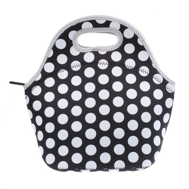 Insulated Neoprene Lunch Container - Assorted Styles