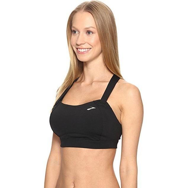 Brooks Women's Juno Cross Back Adjustable High-Impact Sports Bra Sz: 3