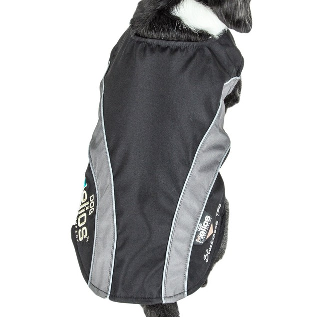 Helios Octane Softshell Neoprene Satin Reflective Dog Jacket