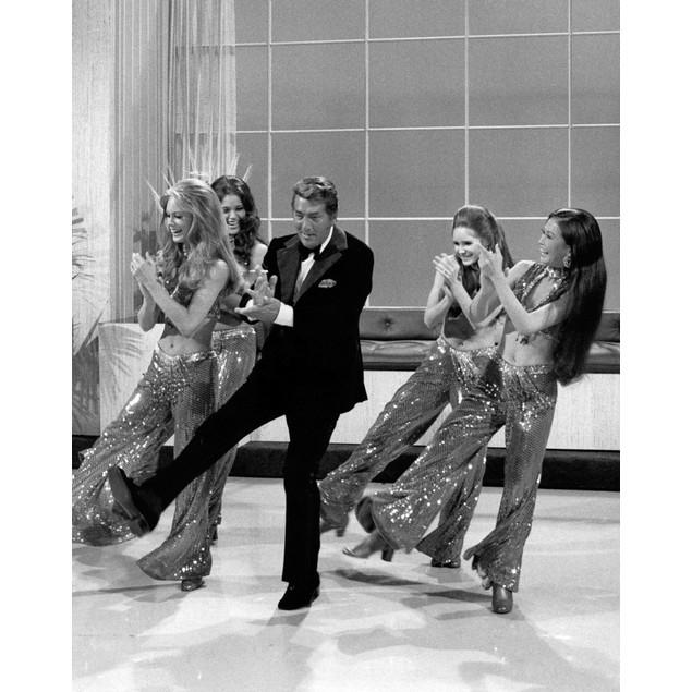 Television still featuring Dean Martin dancing Poster