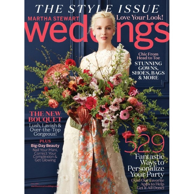 Martha Stewart Weddings Magazine Subscription