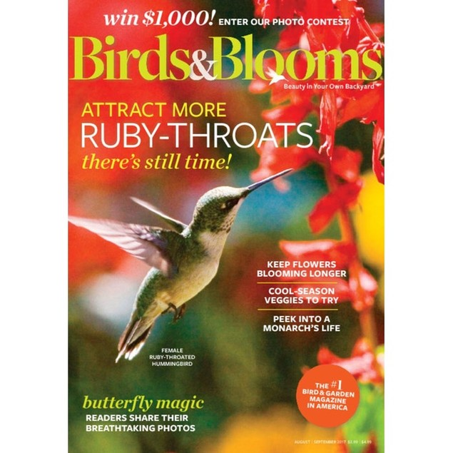 Birds & Blooms Magazine Subscription