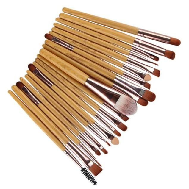 20 pcs Makeup Brush Set tools Make-up Toiletry Kit Wool Make Up Brush