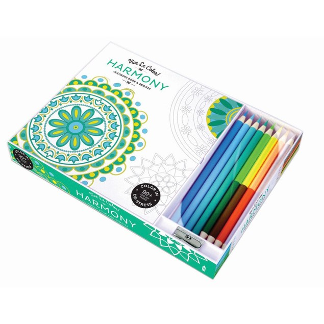 Vive Le Color Harmony Color Therapy Kit, Contemporary Art by Abrams