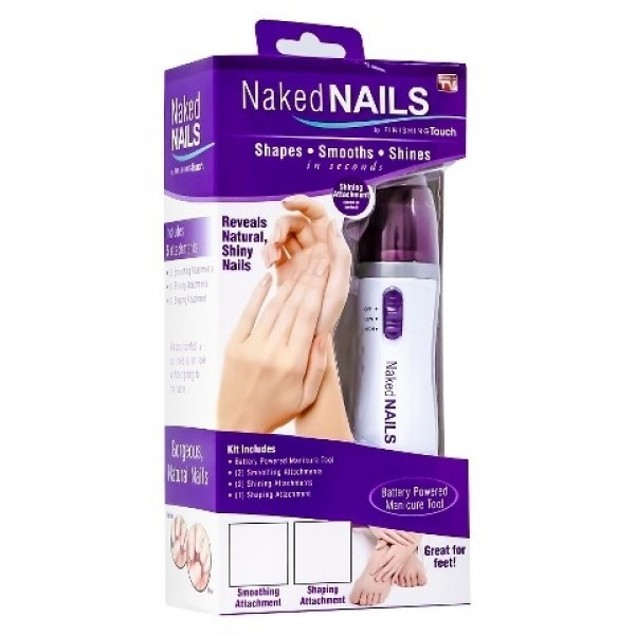 Naked Nails Electronic Nail File