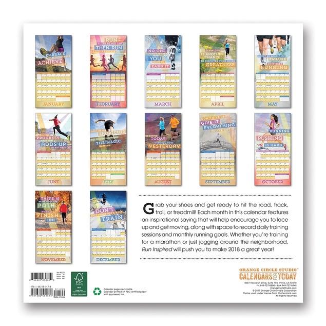 Orange Circle Studio 16-Month Office Wall Calendar (51216)