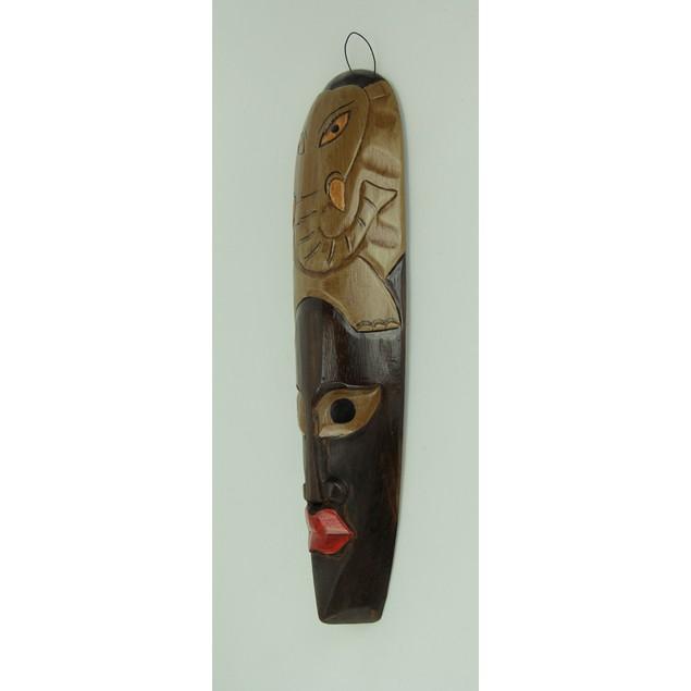 African Jungle Elephant Mask Wall Hanging Africa Decorative Masks