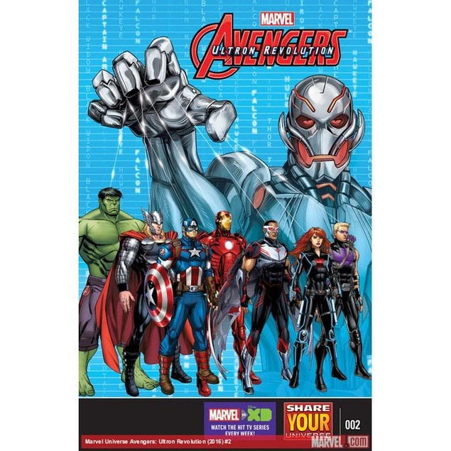 Marvel Universe Avengers: Ultron Revolution Magazine Subscription