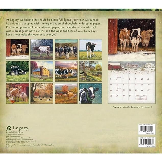 Cow Mohr Wall Calendar, Cows by Calendars