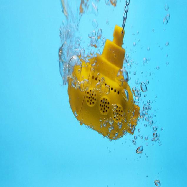 Silicone Yellow Submarine Loose Leaf Tea Infuser