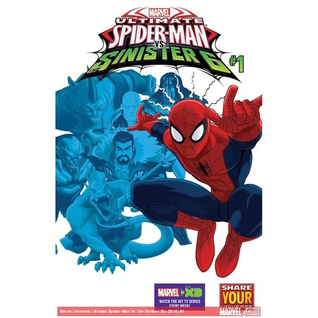 Marvel Universe Ultimate Spider-Man: Sinister Six Magazine Subscription