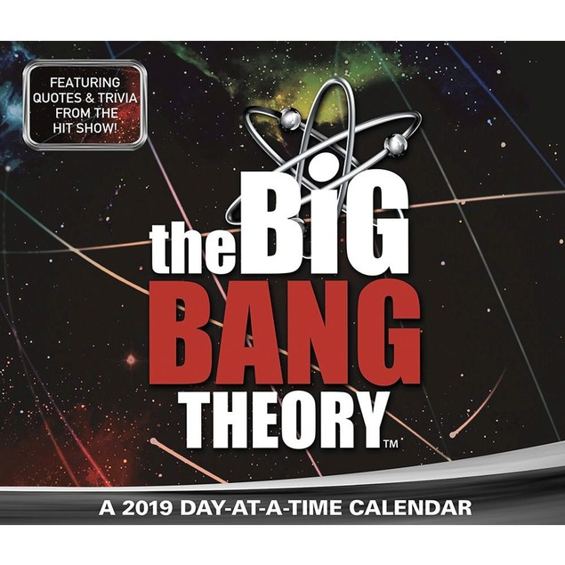 The Big Bang Theory Desk Calendar, Comedy TV by Calendars