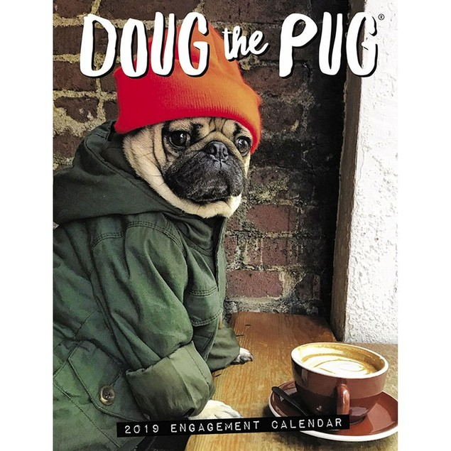 Doug the Pug Planner, Pug by Calendars