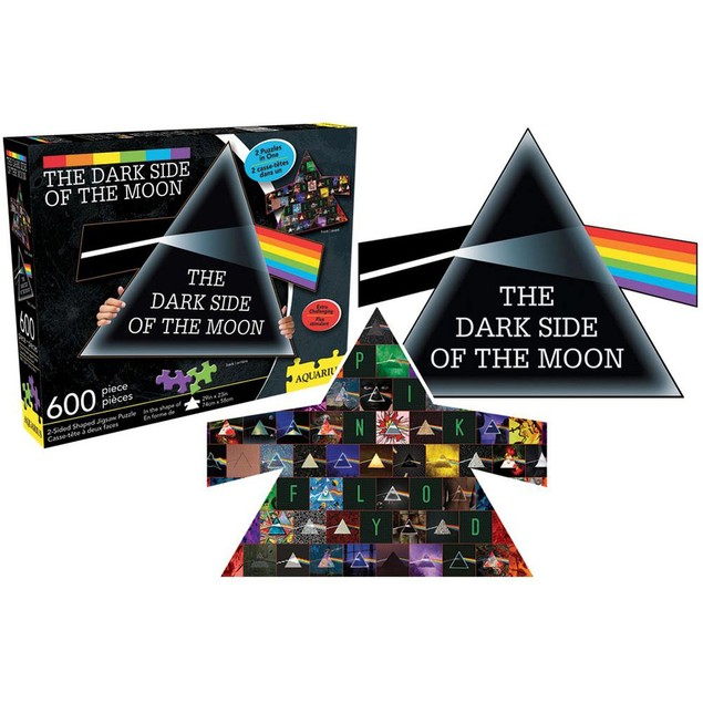 Pink Floyd Dark Side of the Moon 600 Piece Double-Side, More Puzzles by NMR
