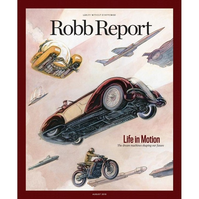 Robb Report Magazine Subscription