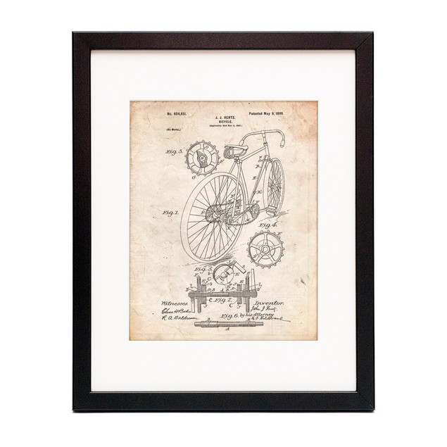Racing Bicycle Poster