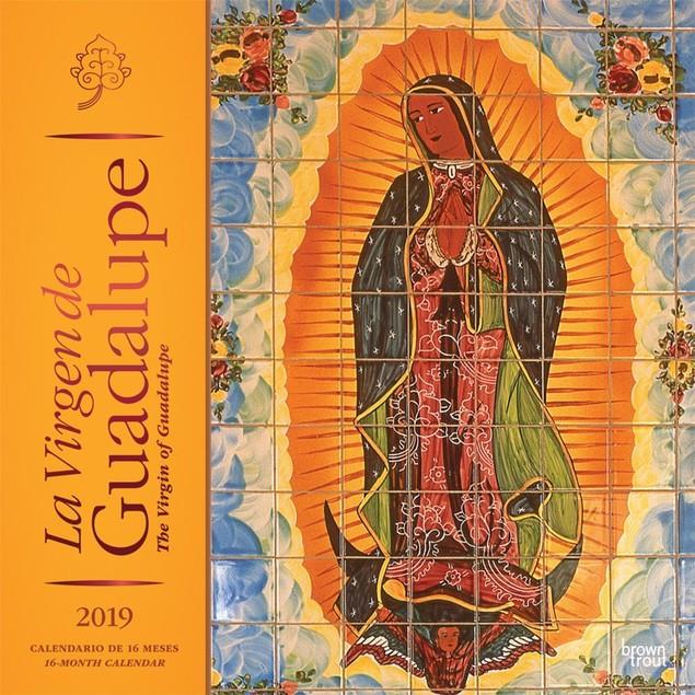 Virgen de Guadalupe Wall Calendar, Mexico by Calendars