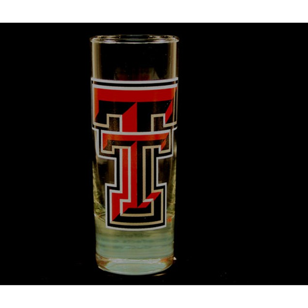 "Texas Tech Red Raiders NCAA ""Hype"" Tall Shot Glass"