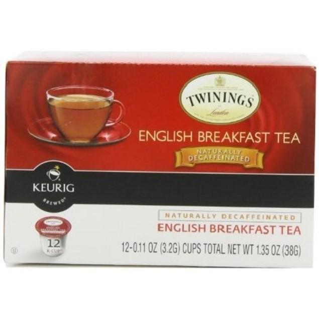 Twinings Of London English Breakfast Tea Keurig K-Cups 12 Cup Box