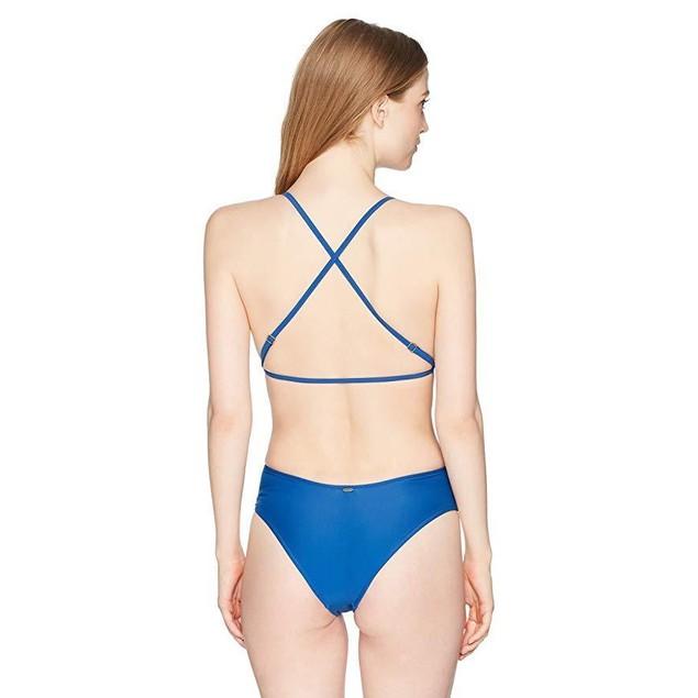 Rip Curl Junior's Classic Surf X Bk 1 Piece Swimsuit, Blue, M