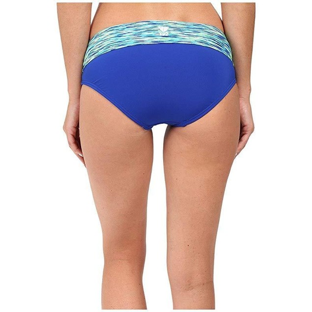 TYR Women's Sonoma Active Banded Bottom Royal Swimsuit Bottoms SZ  M