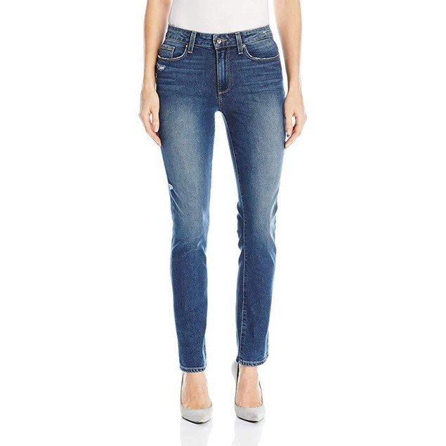 PAIGE Women's Julia Straight Jeans, Tamara, 24