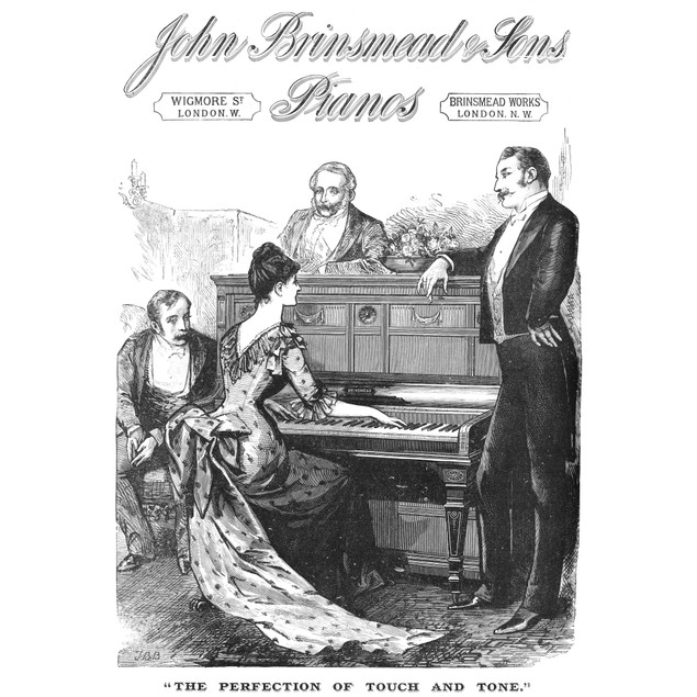 Piano Advertisement, 1888. /Nadvertisement From An English Newspaper Of 188