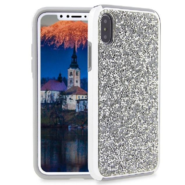 iPhone X Glitter Case