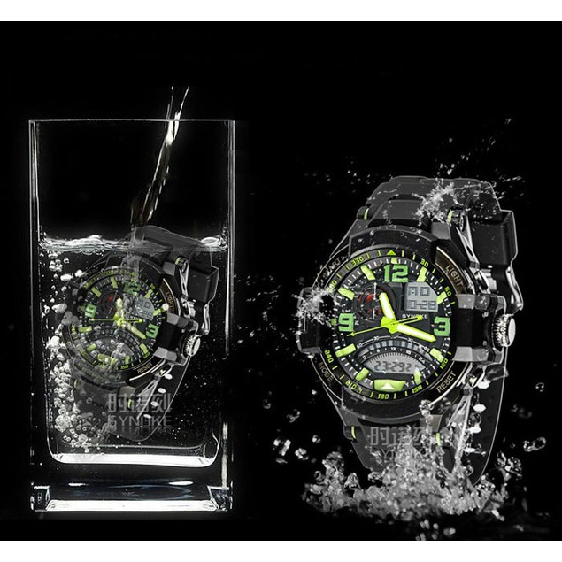 Military Digital LED Quartz Sports Wrist Watch Waterproof