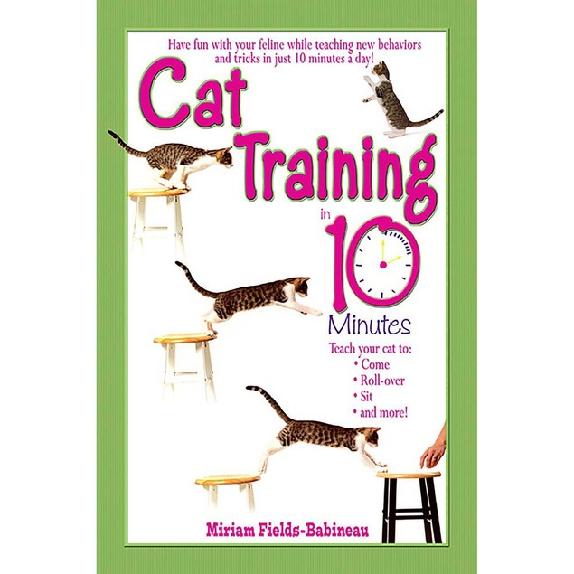 Cat Training in 10 Minutes Book, Assorted Cats by TFH Publications