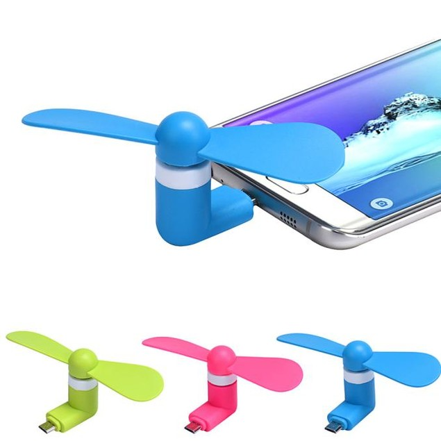 5Pin Portable Super Mute USB Cooler Cooling Mini Fan For Android Phone