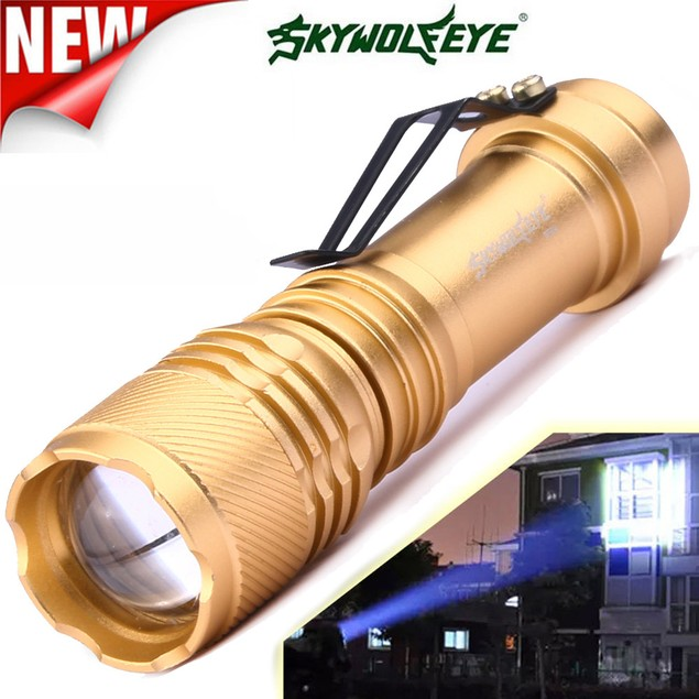 6000LM 3 Modes ZOOMABLE LED Flashlight Torch Super Bright