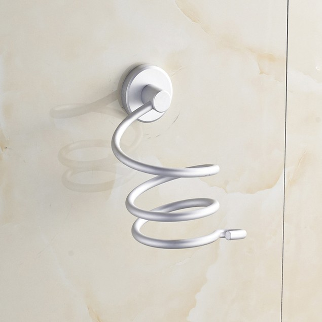 Wall Hair Dryer Bathroom Holder