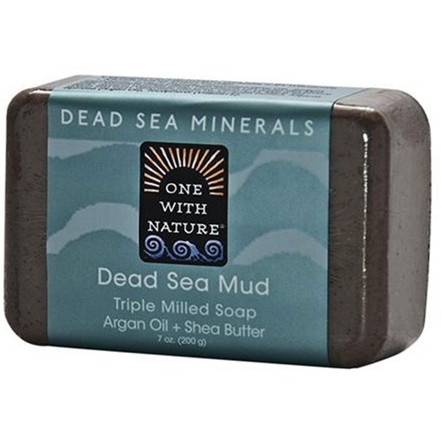 One with Nature Dead Sea Minerals Dead Sea Mud Soap Bar